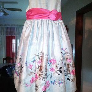 Beautiful girl's dress